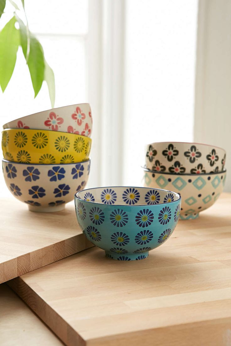 Floral Treat Bowl Set Cute but hand wash...well good thing I don't have a dishwasher anyways