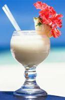 Recette Punch coco 3 cl de sirop de vanille   1 pincée de noix de muscade râpée 1 pincée de cannelle 3 zestes de citron vert 400 grammes de lait concentré sucré 50 cl de rhum blanc   2 noix de coco