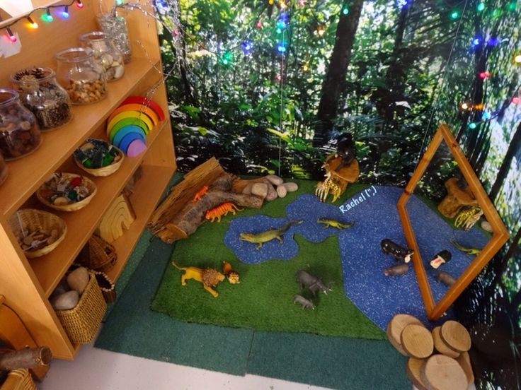 Wild Animal Small World Play (from Stimulating Learning With Rachel)