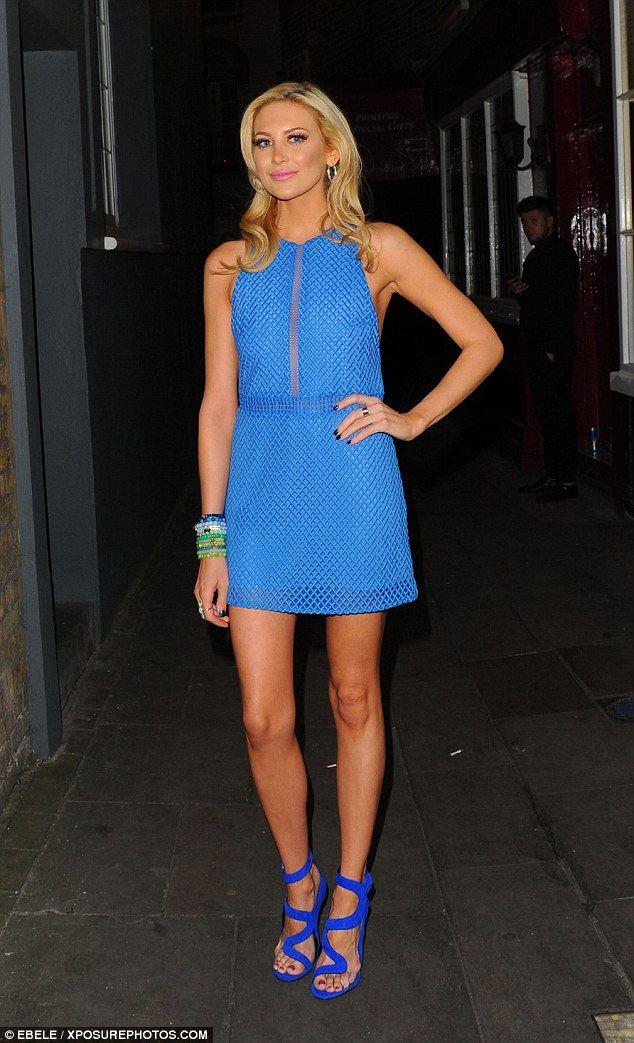 Leggy Stephanie Pratt steps out after Joey Essex split | Daily Mail Online