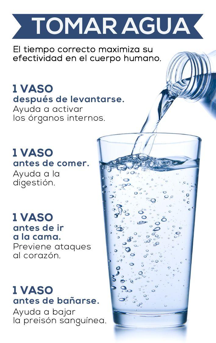 Tomar agua es importantísimo para mantenerse saludable. Aquí te decimos en qué momento debes tomarla para maximizar su efectividad.