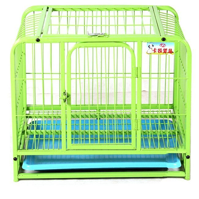 New Arrival Dogs Pets Cage Double Doors Dog Cat Kennel Puppy Kitten Indoor Outdoor Garden Crate Playpen for Dogs Fence