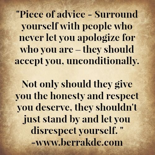 Quotes About Respect In Friendship : Friendship respect self quotes quotables