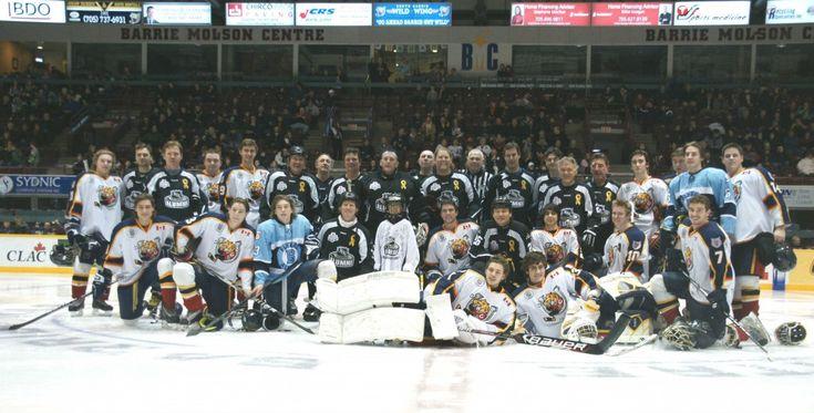 NHL-Alumni-Game > A Little Hockey Sibling Rivalry