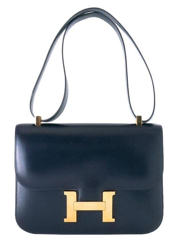 On the hunt for a navy bag.