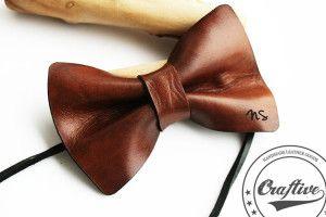 Monogram Bow Tie