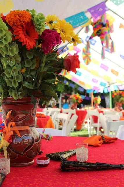 Mexican Fiesta Bridal/Wedding Shower Party Ideas | Photo 8 of 47 | Catch My Party