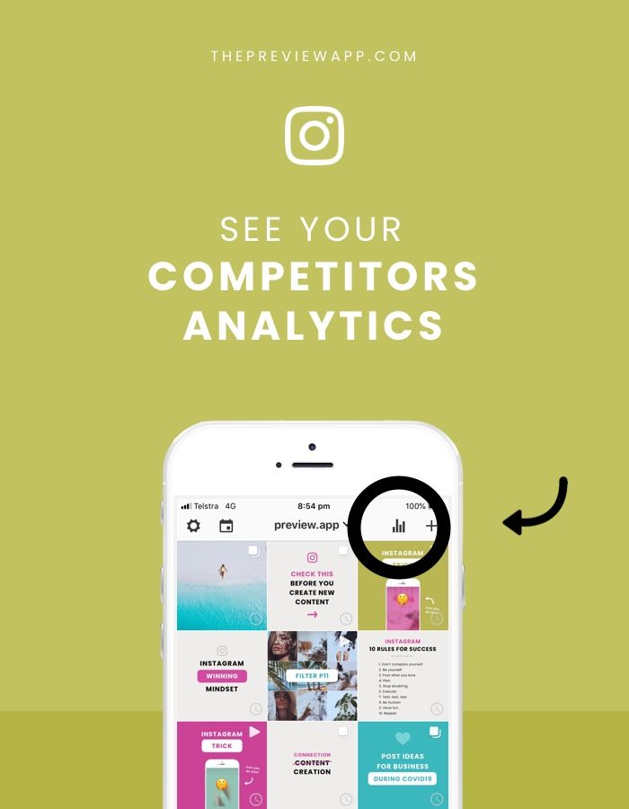 Instagram Competitor Analysis Tool Competitor Analysis Instagram Marketing Tips Instagram Analytics