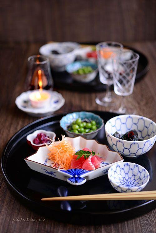 「お刺身の盛り付けと季節食材冷凍の話」 - 花ヲツマミニ
