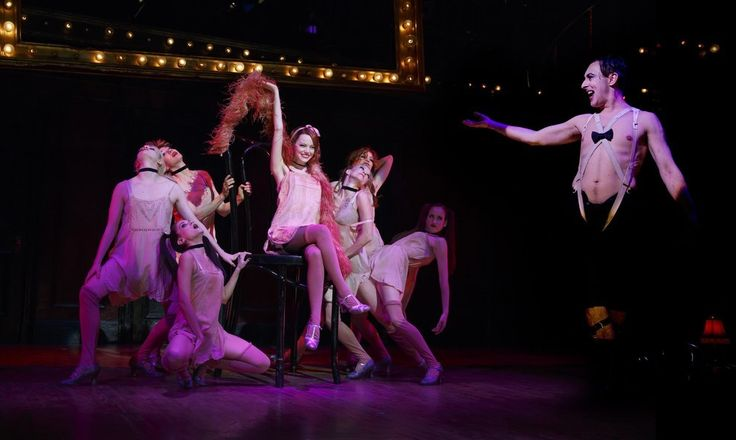 "Emma Stone Looks Flawless In The ""Cabaret"" Musical"