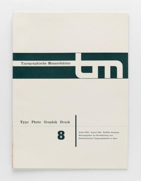 TM Typographische Monatsblätter, issue 8, 1944