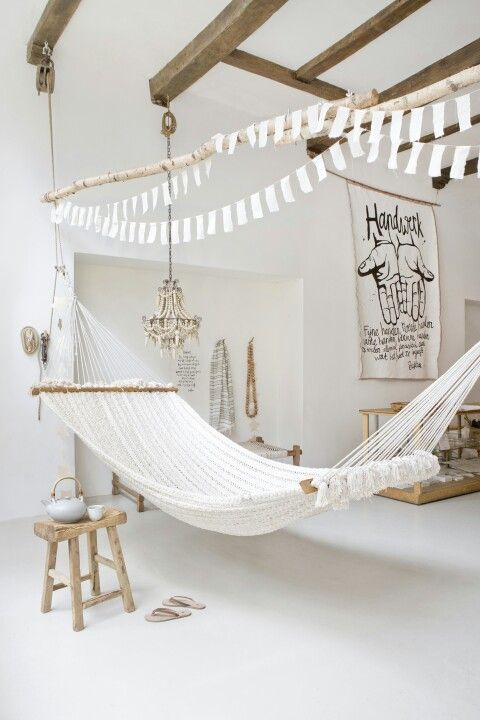 We are totally doing absolutely nothing today... and tomorrow.  Blame it on our hammock :)  Wishing you blue skies en sunny days too! www.atelier-sukha.nl/product/hammock-chulto