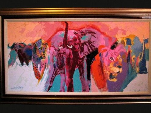 Mark enslin - mark enslin 98 original big5 painting for salesize: