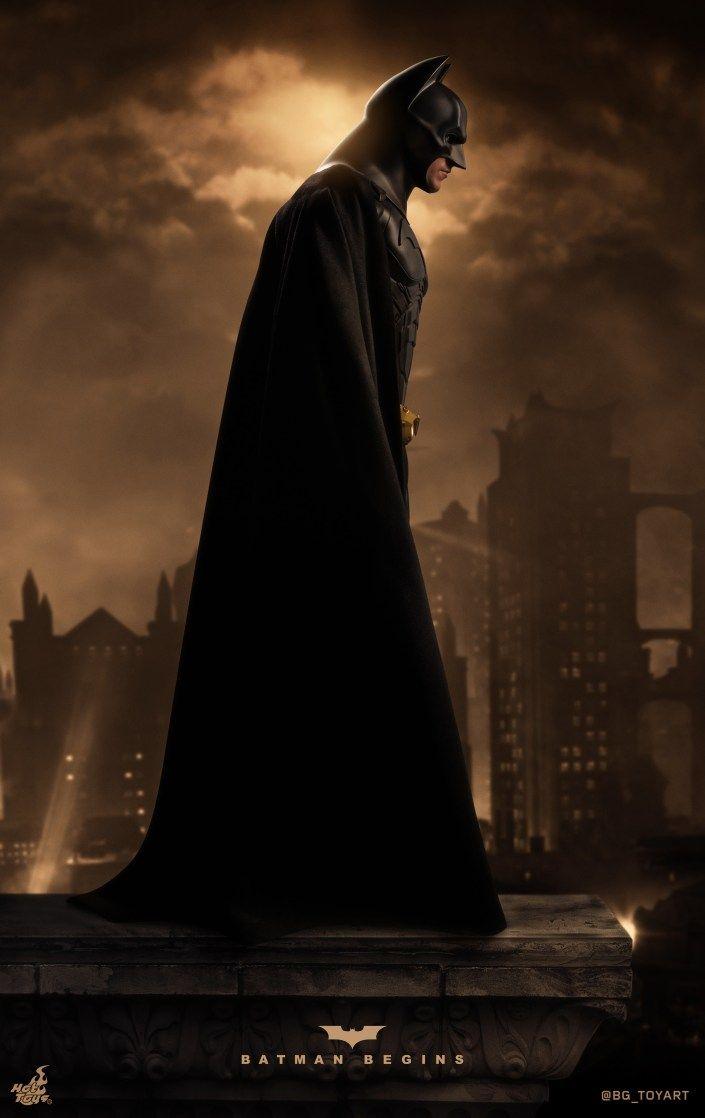 Bgtoyartbatman Begins Qtr018 Arte Batman Batman El