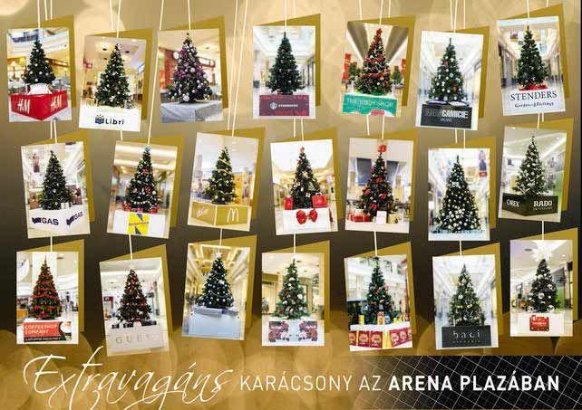 Extravagáns karácsony az Arena Plazában