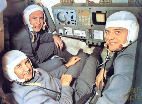 On 30 June, 1971, the Soviet Union were preparing to welcome the Soyuz 11 team, consisting of Georgi Dobrovolski, Vladislav Volkov, and Viktor Patsayev,back to earth. The cosmonaut heroes had just succeeded in a record breaking space mission - they had spent 22 days in orbit but also occupied the world's first space station, Salyut 1. Nobody could have anticipated the horror that they found inside - the entire crew were dead . The capsule had de-pressurized  causing the crew to asphyxiate...
