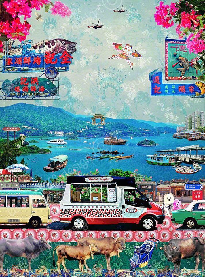 Ice cream van Hk