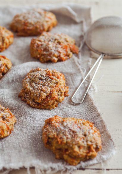 Bouchées de gâteaux aux carottes - Recette   Trois fois par jour