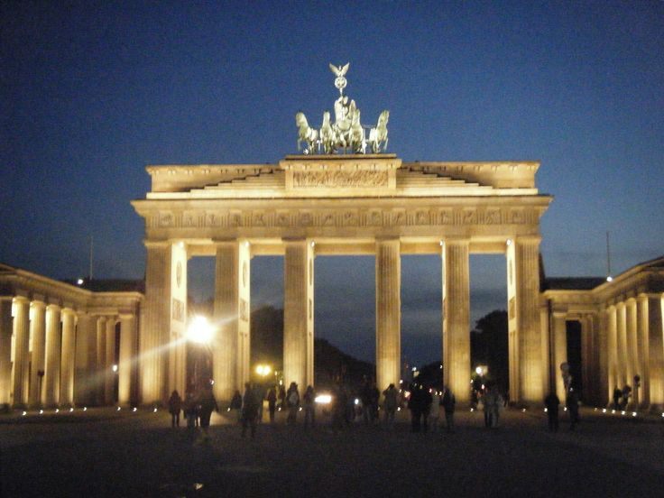 Brandenburg Gate in Berlin, Germany!