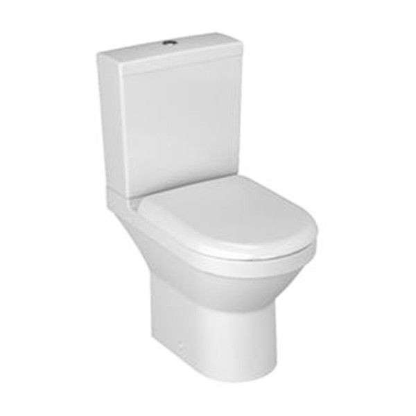 Vitra S50 Compact Open Back Close Coupled Toilet - Vitra S50 - Modern Bathroom Suites - Bathroom Suites