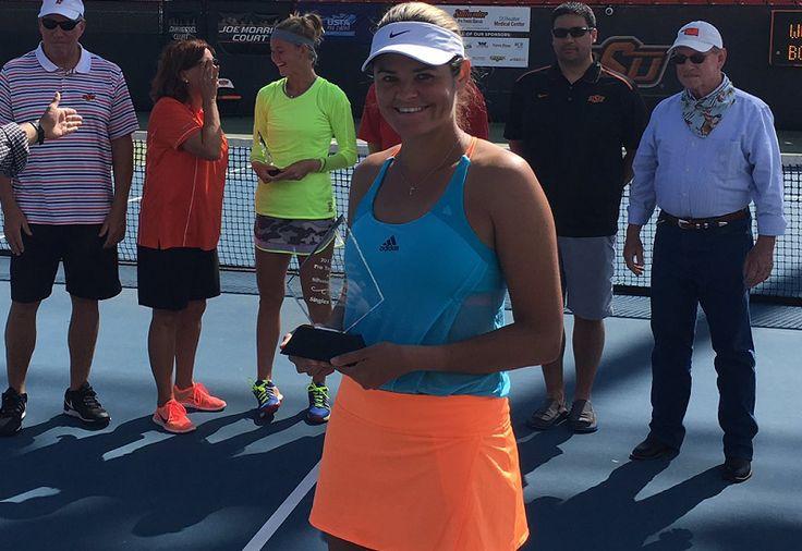 Canadian tennis // Stillwater Pro Tennis Classic 2017 (Stillwater, United States) // Picture : Aleksandra Wozniak (Copyright Stillwater Pro Tennis Classic)