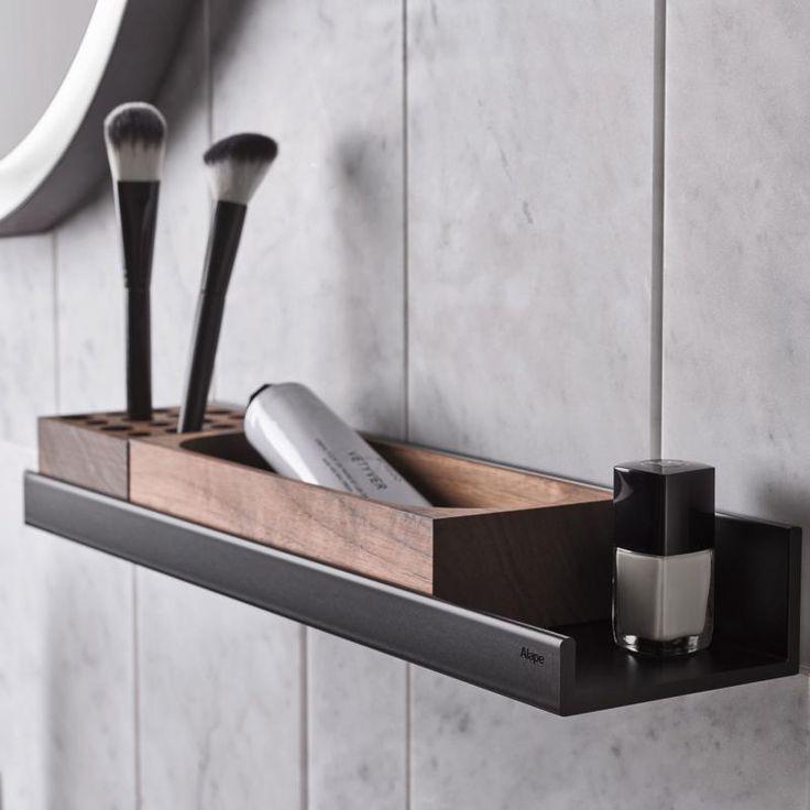 Die besten 25 badezimmer ablage ideen auf pinterest badablage badezimmer led und regale ber wc - Badezimmer ablage ...