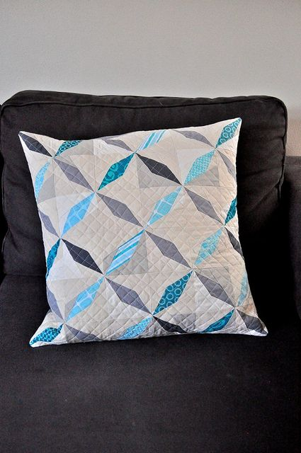 Quilted Throw Pillow Ideas: 54 best images about Pillow Talk on Pinterest   Quilt  Heather    ,
