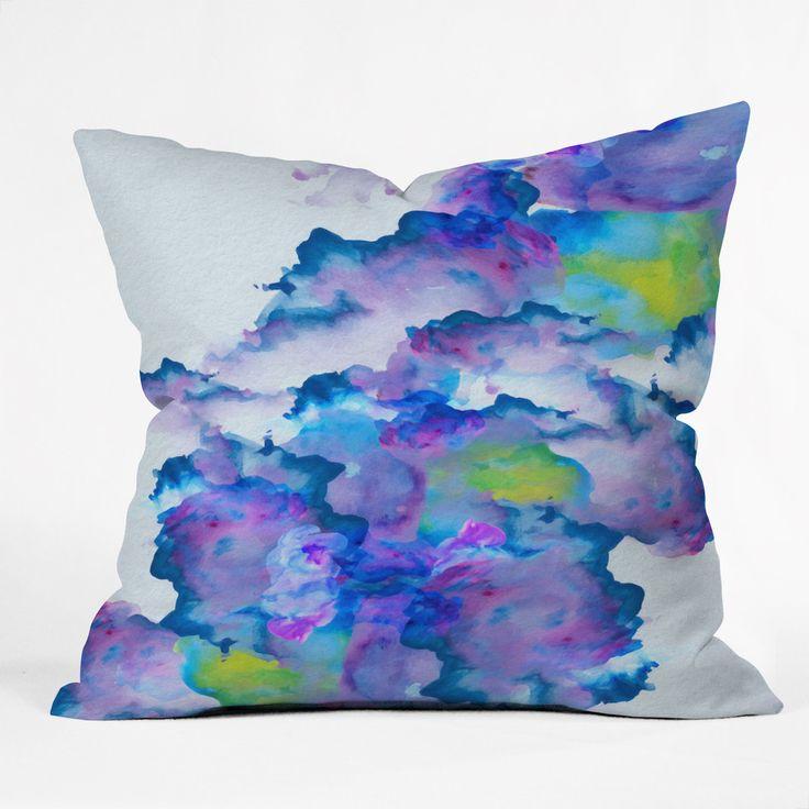 Viviana Gonzalez Watercolor love 2 Throw Pillow | DENY Designs Home Accessories
