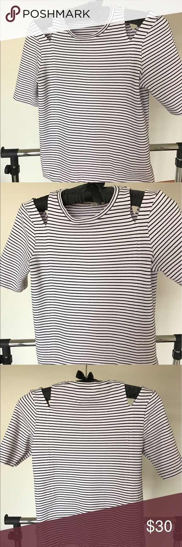 Whistles t-shirt. British luxury brand. Excellent t-shirt, warn one time. Whistles Tops Tees - Short Sleeve