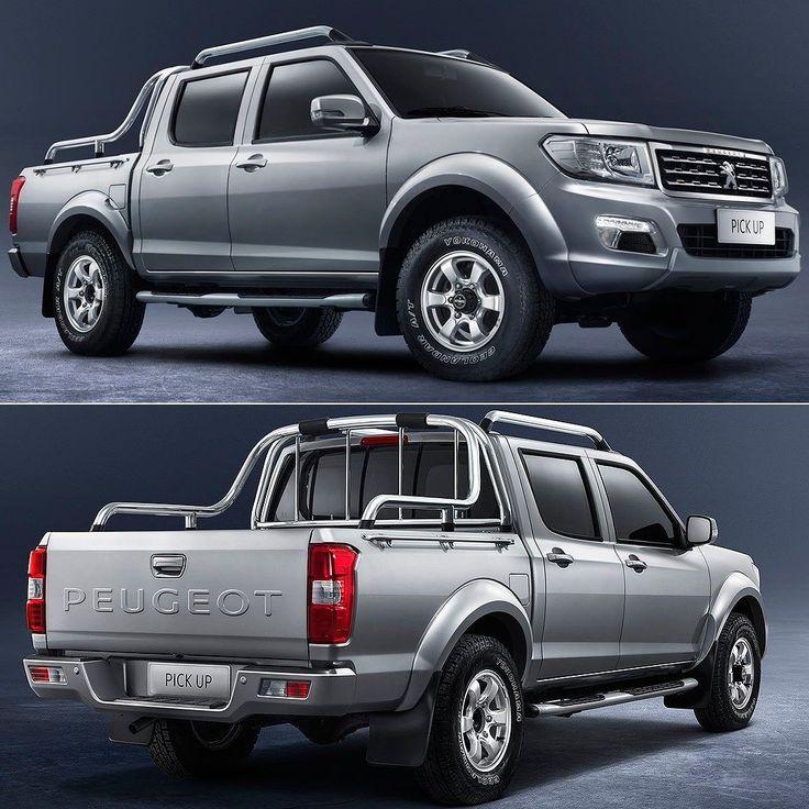 """Peugeot Pick Up 2018 Não não voltamos aos anos 90! Ao mesmo tempo em que lança modelos modernos e com visual hi-tech como o 3008 que acompanhamos nesta semana a marca do leão acaba de introduzir no mercado africano essa Pick-up! Trata-se de um modelo feito em parceria com a Dongfeng e também com a Nissan graças a uma joint-venture com a Zhengzhou Nissan Auto (ZNA). Basicamente essa é uma Nissan Frontier de primeira geração com a """"grife"""". Detalhe para o aplique """"Peugeot"""" na tampa traseira: o…"""