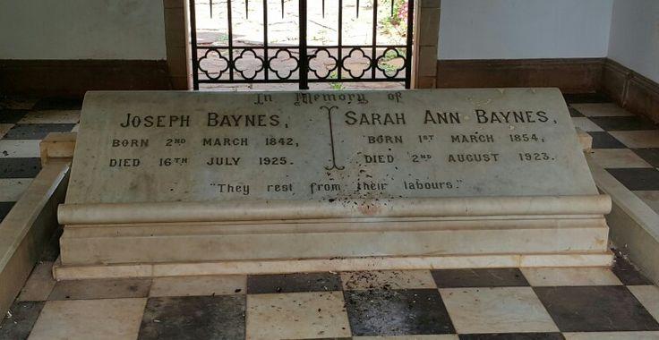 Joseph & Sarah Ann Baynes, Mausoleum, Baynesfield, South Africa