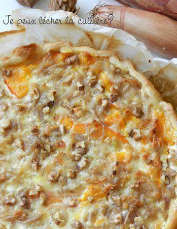 Tarte potimarron, noix, comté #Cuisinepotimarron