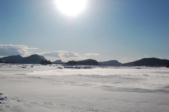 L'hiver dans le Bas Saint-Laurent