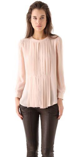 A.L.C blouse, love the pleats