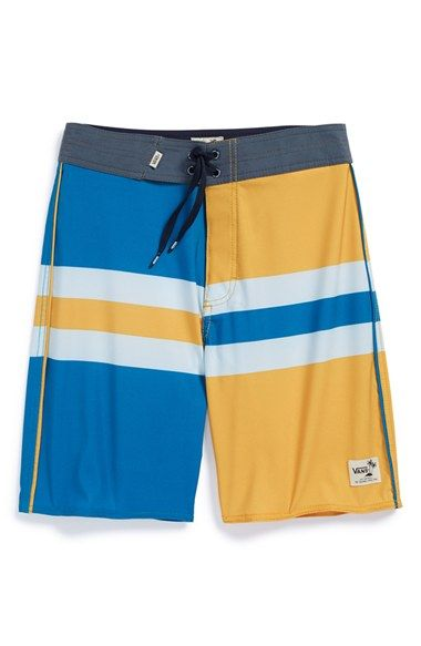 Boy's Vans 'Dungeness' Board Shorts