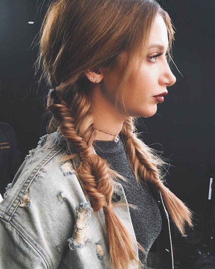 Ashley Tisdale #fishtailbraid #hair