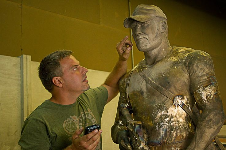 chris kyle tattoos | Chris Kyle Statue Start a statue of tyrone/ Greg Marra, who sculpted the Chris Kyle Memorial Statue, has started the sculpting process and hired veterans to help sculpt this fitting tribute of these two warriors.