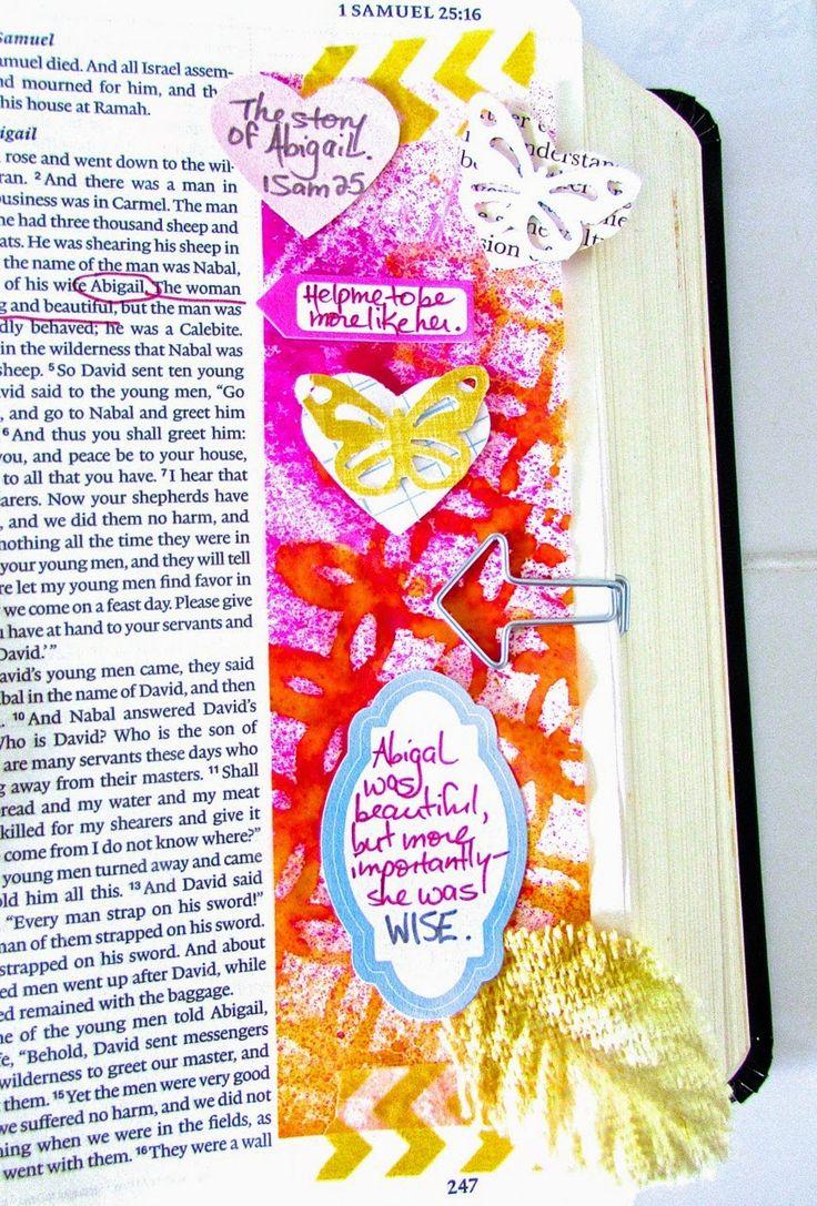 Illustrated Faith - Abigail -- 1 Samuel 25   Bonita Rose