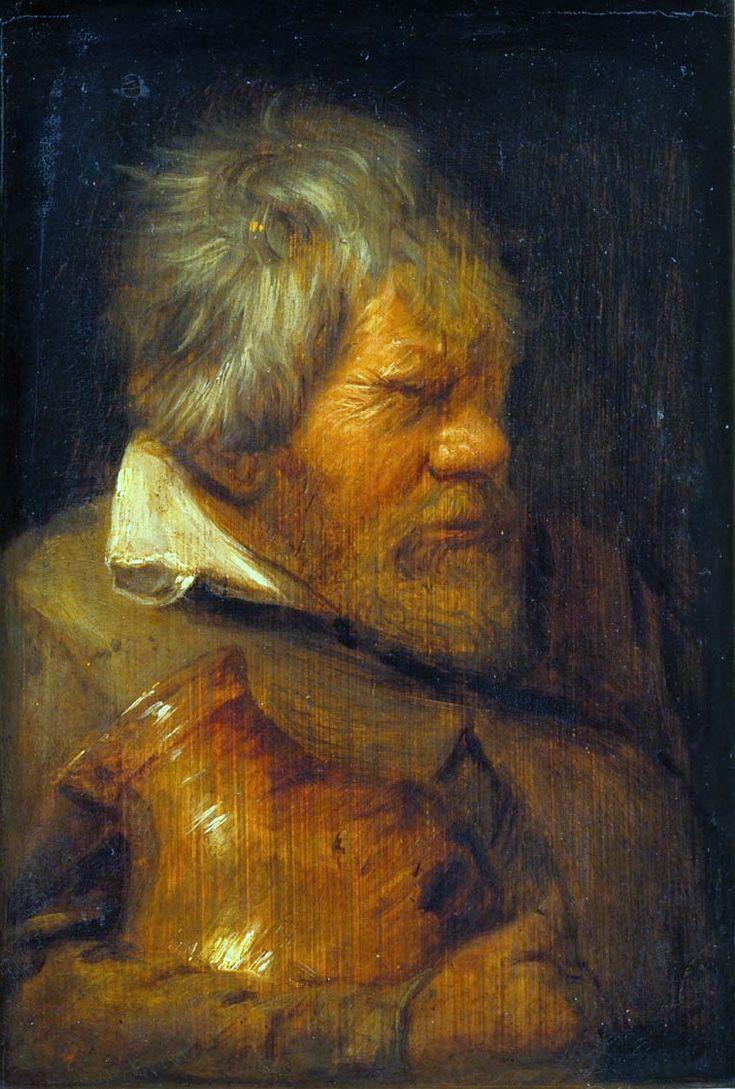 Old Drunk by Adriaen Brouwer