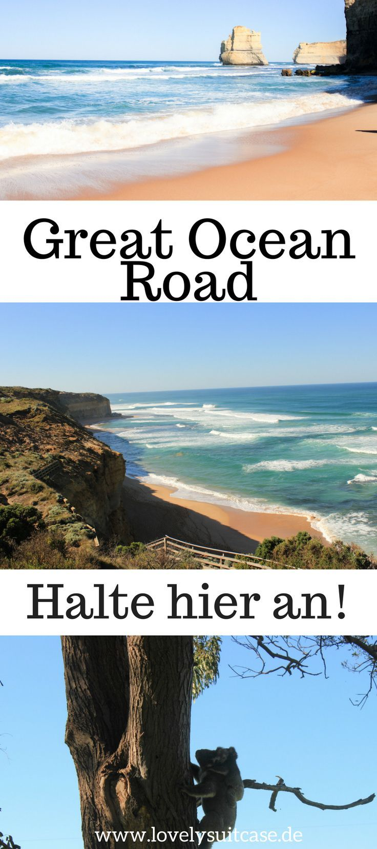Wenn du in Australien bist, dann gehört ein Roadtrip auf der Great Ocean Road bei Melbourne definitiv auf deine Down Under To Do Liste.
