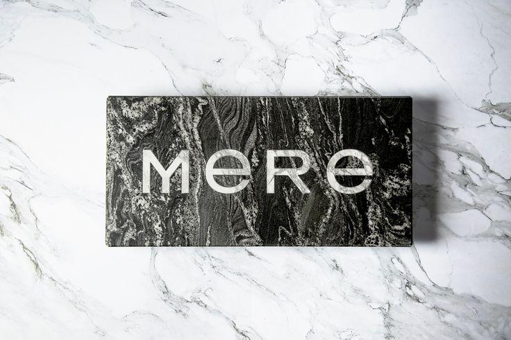 WORK: Bibliothèque design identity for new Mere restaurant - Creative Review