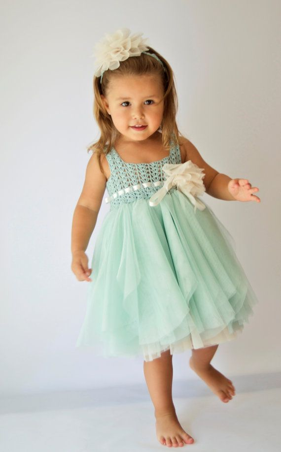 Lovingly hand-crafted tutu dress is a work of art in itself. Little miss will look adorable in this dress with jubilant skirt full of softest fluffy tulle and crochet bodice.  It is specially designed with a baby in mind . Special ruffle cut makes them look like tulle flower petals. It is made with premium quality materials and with great attention to details. Stretchy and silky soft crocheted base of the skirt and band makes this set so comfortable for active little ones. It is very easy to…