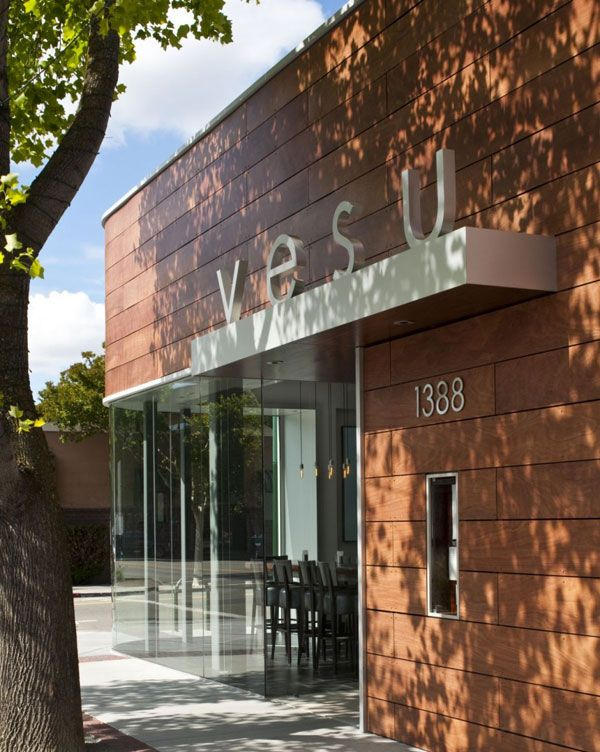 vesu restaurant2 Modern Restaurant Design: Vesu in Walnut Creek, California