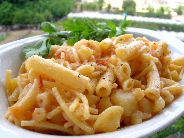 Pasta e patate alla napoletana Salerno