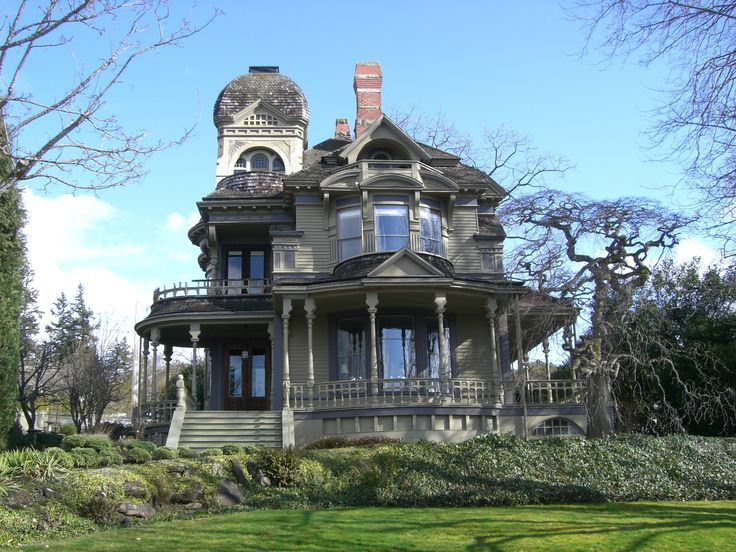 South Hill Historic District Trees Washington State And