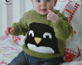 Baby Knitting Pattern K3136 Babies Coat by KnittingPatterns4U