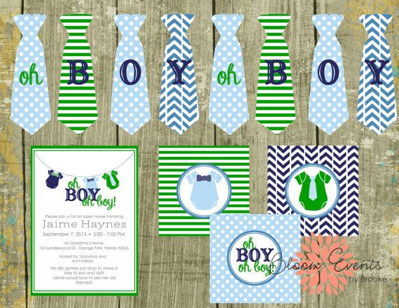 26 best images about baby shower on pinterest   boys, bow ties and, Baby shower invitations