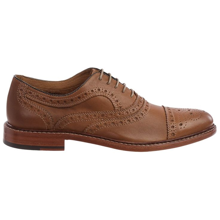 oxford shoes | ... Johnston & Murphy McGavock Cap-Toe Oxford Shoes - Leather (For Men