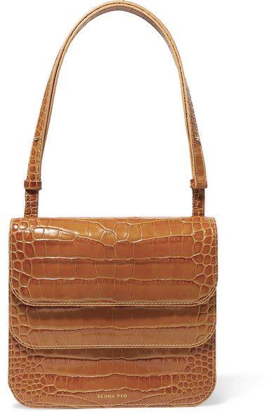 096bfadc6d2b Ana croc-effect leather shoulder bag affiliatelink