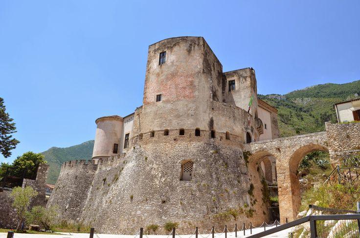Castello Pandone a Venafro, uno dei più belli castelli medioevali del Molise, all'interno il Museo Nazionale del Molise. 41°29′00″N 14°03′00″E